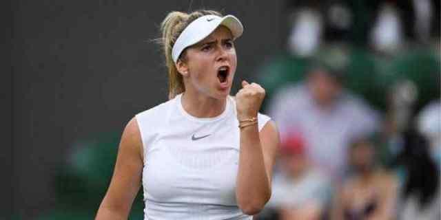 Одесситка Элина Свитолина вышла в 1/8 финала крупнейшего чемпионата по теннису