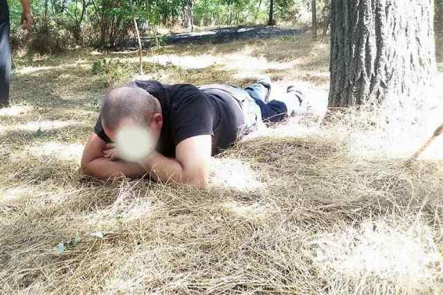 В Одессе задержали поджигателя парка