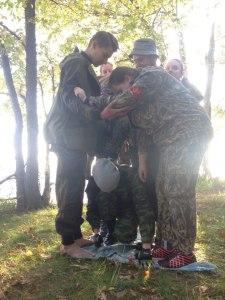 Учебный выезд новичков отряда