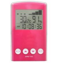 熱中症予防に温度湿度計