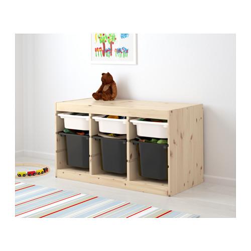 trofast横型、IKEAのおもちゃ箱収納