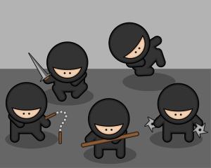 忍者の仕事