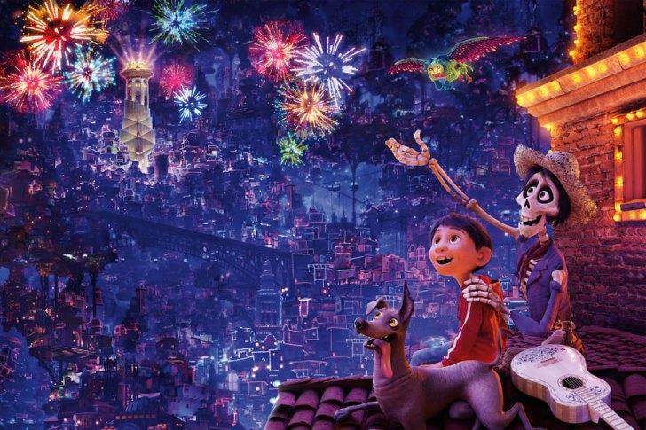 """【3/16(金)公開】 ディズニー/ピクサー最新作『リメンバー・ミー』公式サイト。かつて誰も想像したことのない陽気でカラフルな""""死者の国""""を舞台にした大冒険──。"""