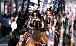 【9/8(土)宵まつり・9/9(日)本まつり】第55回政宗公まつり 大崎市岩出山は、政宗公が仙台城へ移る前の12年間、血気盛んな青年時代を過ごした地です。