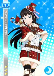 黒澤ダイヤSRクリスマス編画像
