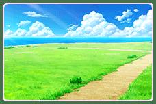 海辺近くの十字路