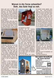 Artikel im Treffpunkt Das Magazin - Juni 2021
