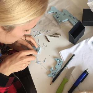 Stempel-Workshop