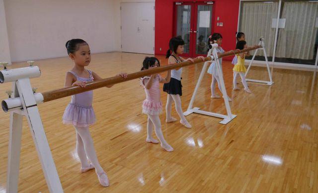 清和台 バレエ教室 練習風景2
