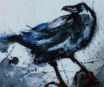 El significado de soñar con cuervos