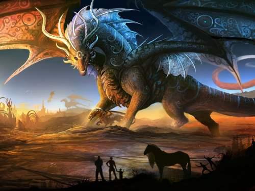 significado de soñar con dragones