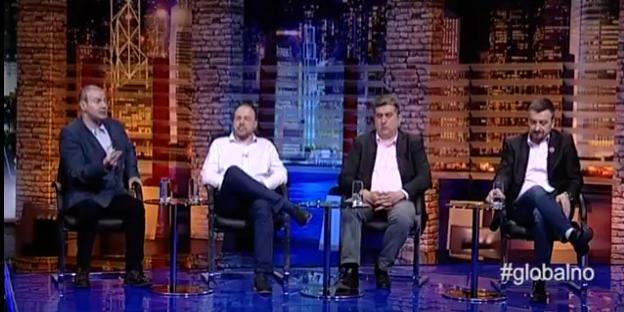 Емисија водитеља Бориса Малагурског ''Глобално'', посвећена резулатима председничких избора у Србији и започетим протестима