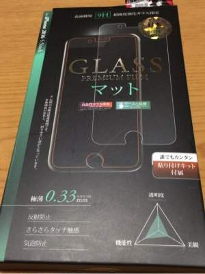 GLASS PREMIUM FILM マット