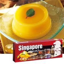 シンガポール土産マンゴープリン