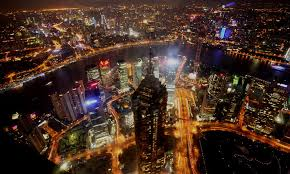 上海環球金融中心夜景