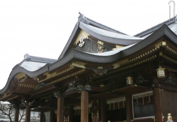 湯島天神の本殿