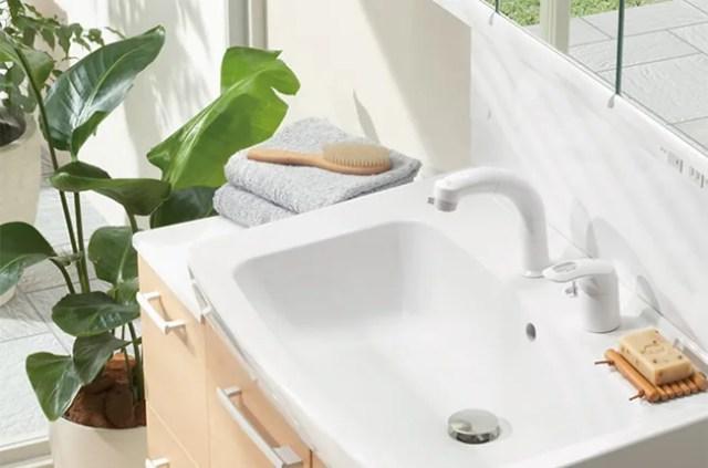 lixilの洗面化粧台「オフト」
