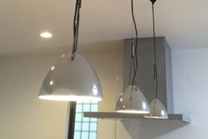 2.北欧風キッチンの照明が「ブラケット」「ペンダント」を選ぶとグッと雰囲気がでる!
