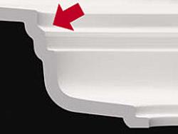 清潔設計で汚れがたまりにくい排水口