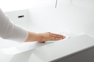 有機ガラス系新素材の洗面ボウル