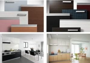 サンファーニはデザイン性が高い!スタイリッシュなキッチンを演出するカラーバリエーション