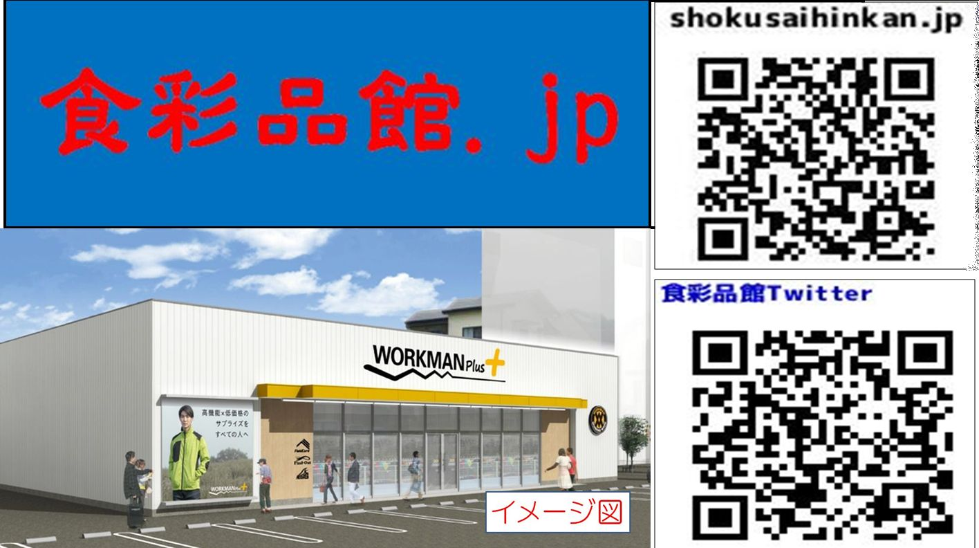 WORKMAN Plus中川澄池店(ワークマンプラス,名古屋市)2020年11月19日オープン