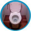トイレ水溢れ