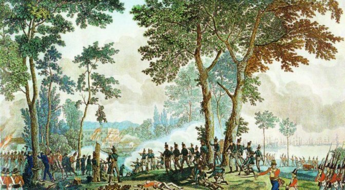 Slaget i Classens Have med Piet van Deurs