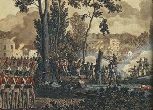 Justinenborg i Classens Have 1807