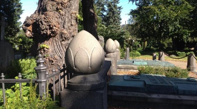 Bille-runddelen på Holmens kirkegård