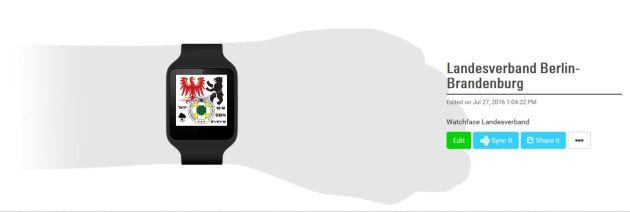Landesverband Uhr