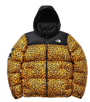 the-north-face-supreme-leopard-jacket-yellow