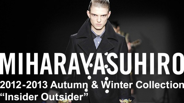 MIHARA_YASUHIRO_Menswear fall winter 2012 _Paris january 2012