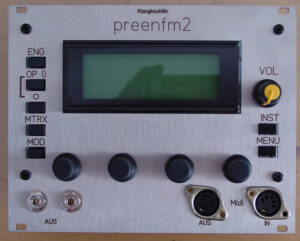 preenFM Synthesizer