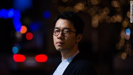 Hong Kong activist Nathan Law in London, England, on December 9.