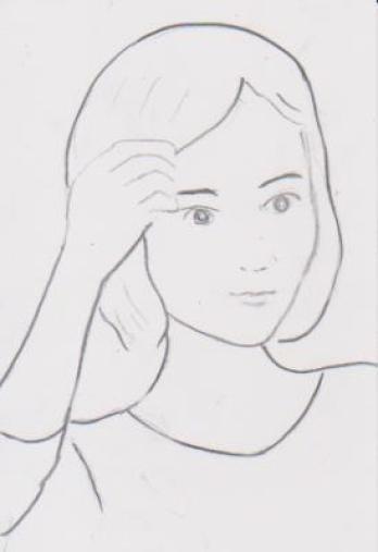 女性のイラスト2