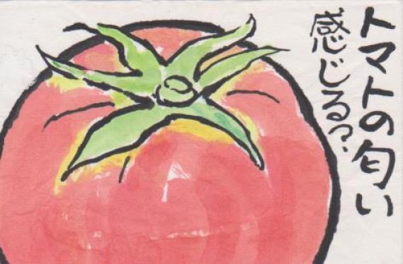 トマトの絵ー1