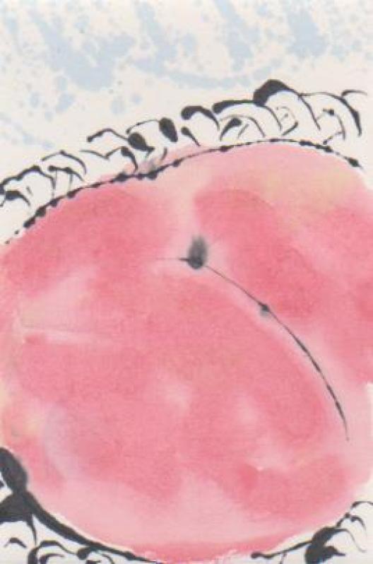 モモの絵ー11
