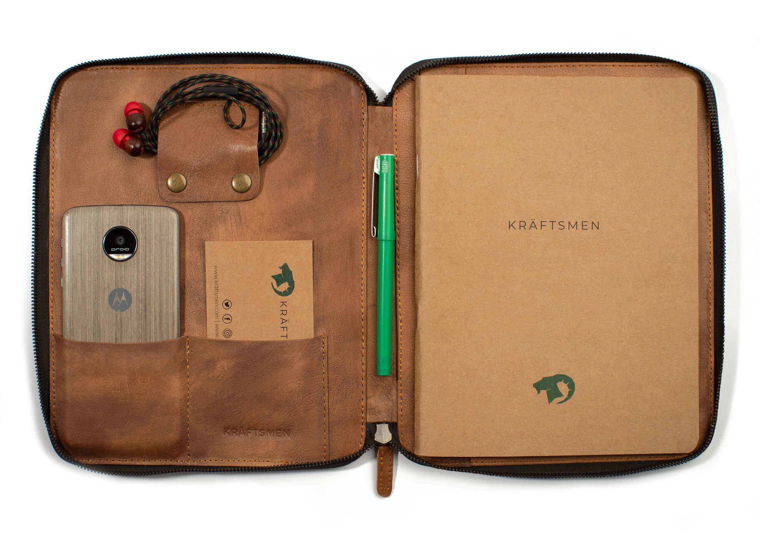 Leather Portfolio by Kraftsmen