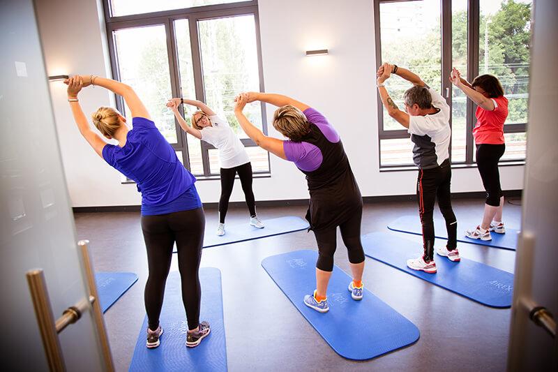 Betriebliche Gesundheitsförderung, Rehasport, Training, Rückenkurs, Präventionskurs, Rückenfit