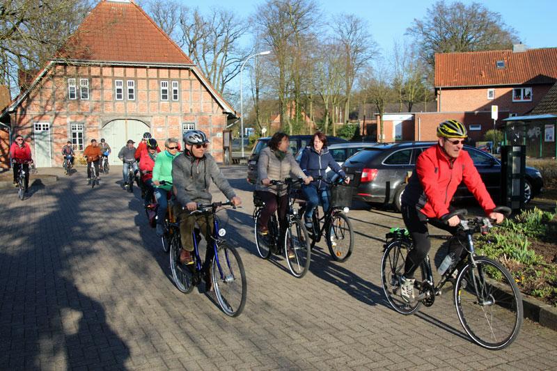Bild von der Fahrradtour