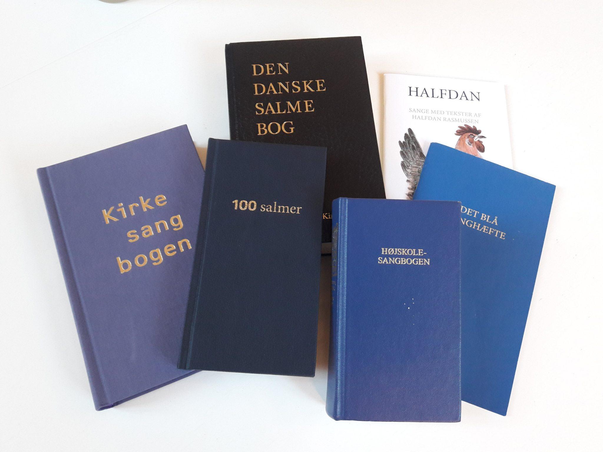 Kirkens salme- og sangbøger