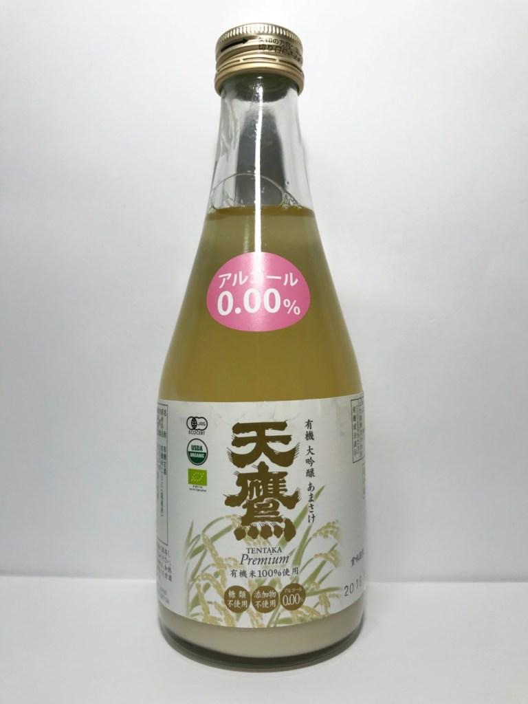 天鷹酒造の全麹仕込みの米麹甘酒『有機大吟醸あまざけ天鷹』