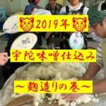 2019年・宇陀市で味噌造りにチャレンジ(その1)~麹仕込みをしてきたよ♪~【黒ぶ~Logその54】