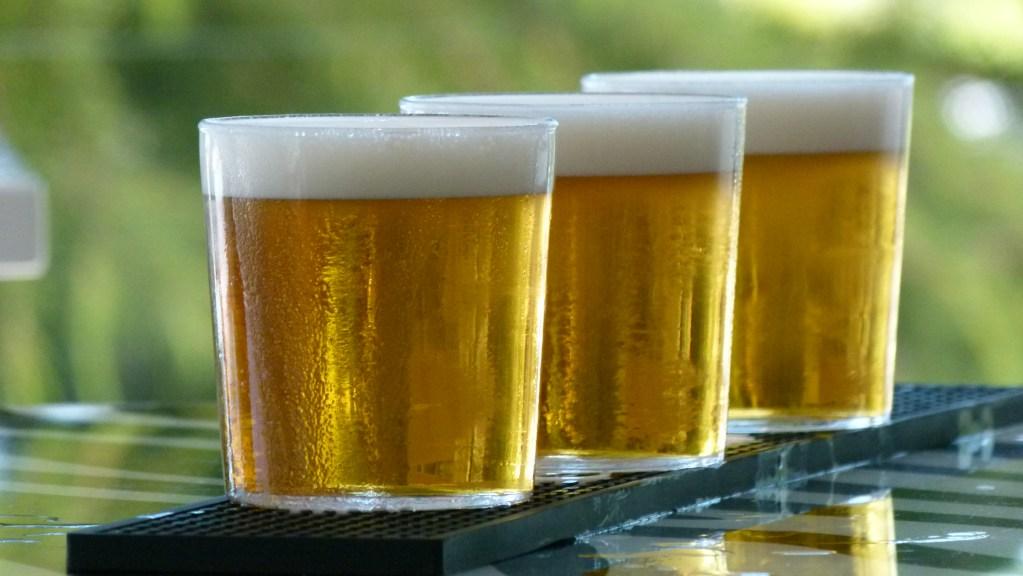 cervezas bien tiradas en Madrid Barajas