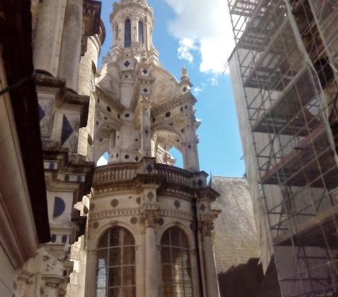 obras castillo de chenonceau