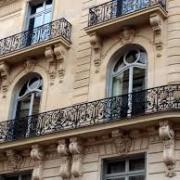 estilo haussman paris edificios