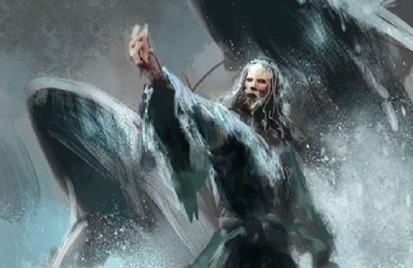 Ilustración de Aeron Greyjoy