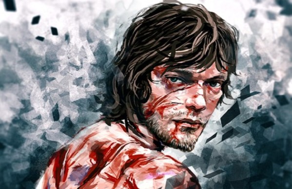 Ilustración de Theon Greyjoy como Hediondo