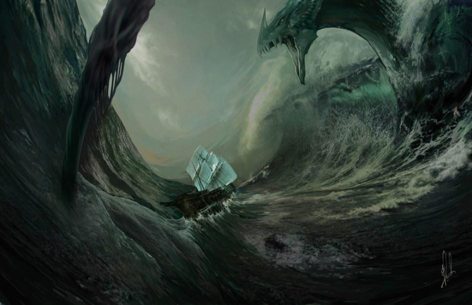 El dragón marino Nagga